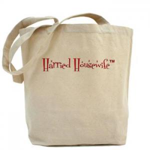 Harried Housewife Tote Bag